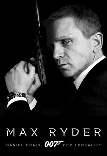 Daniel Craig lookalike - Max Ryder